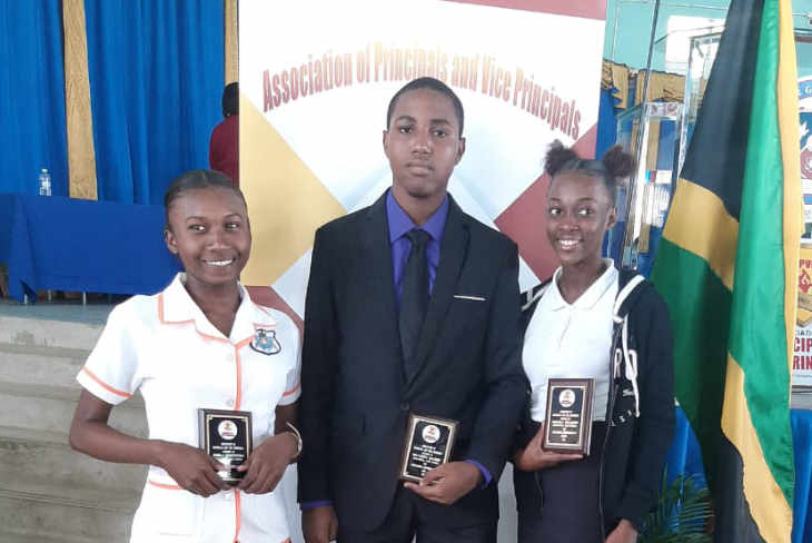 Oracabessa High Students – Top Awardees at The Association of Principals and Vice Principals Award Ceremony